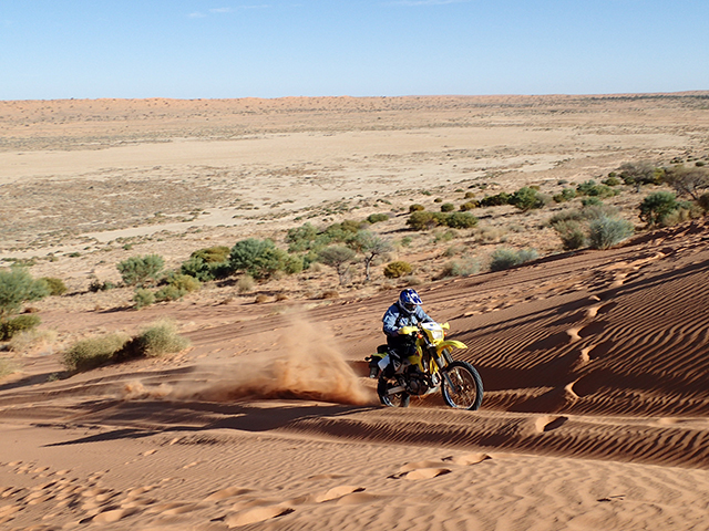 オーストラリア シンプソン砂漠横断 添乗レポート(その1)