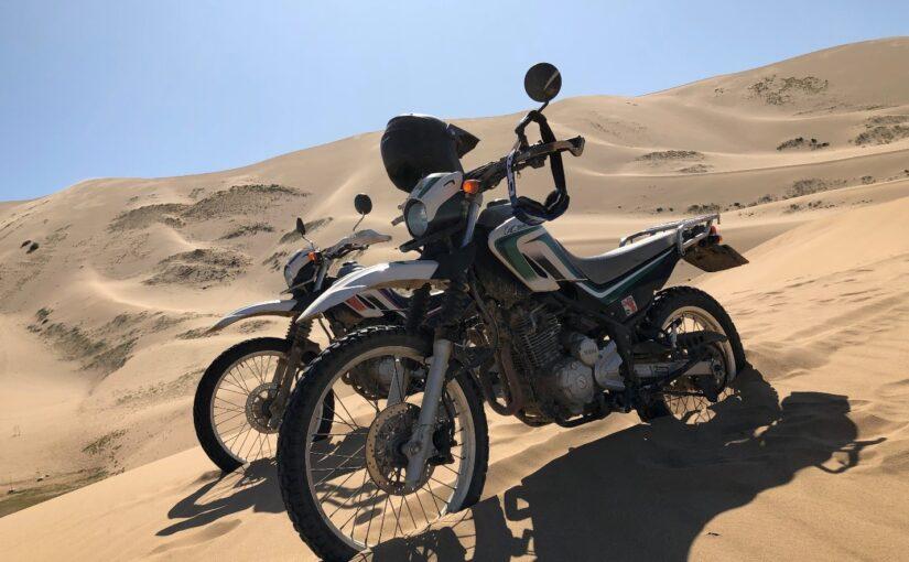 モンゴル ゴビ砂漠デザートライディング6日間