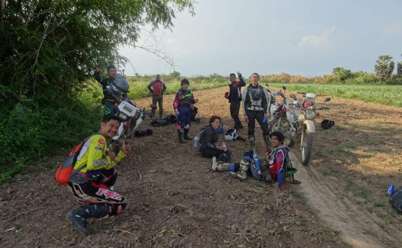 カンボジア メコン川とアンコール・ワット オフロード 6日間 添乗レポート(前編)
