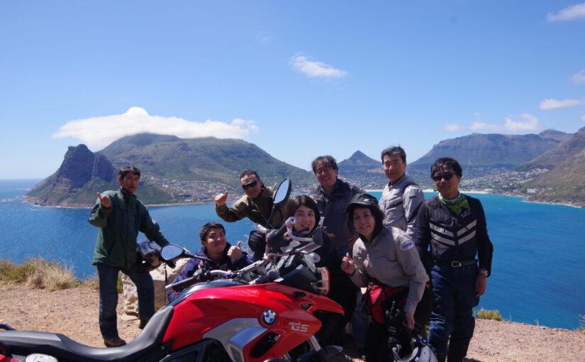南アフリカ アグラス岬と喜望峰 アフリカ大陸最南端ツーリング 9日間